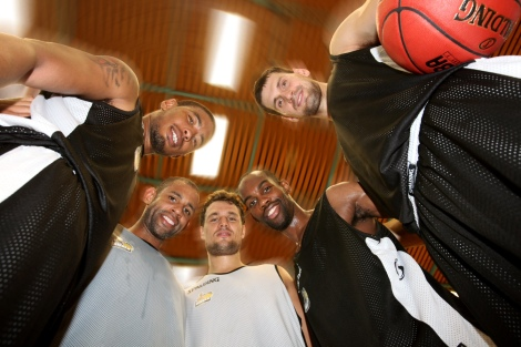 Basketball Neckar Riesen Trainingsauftakt